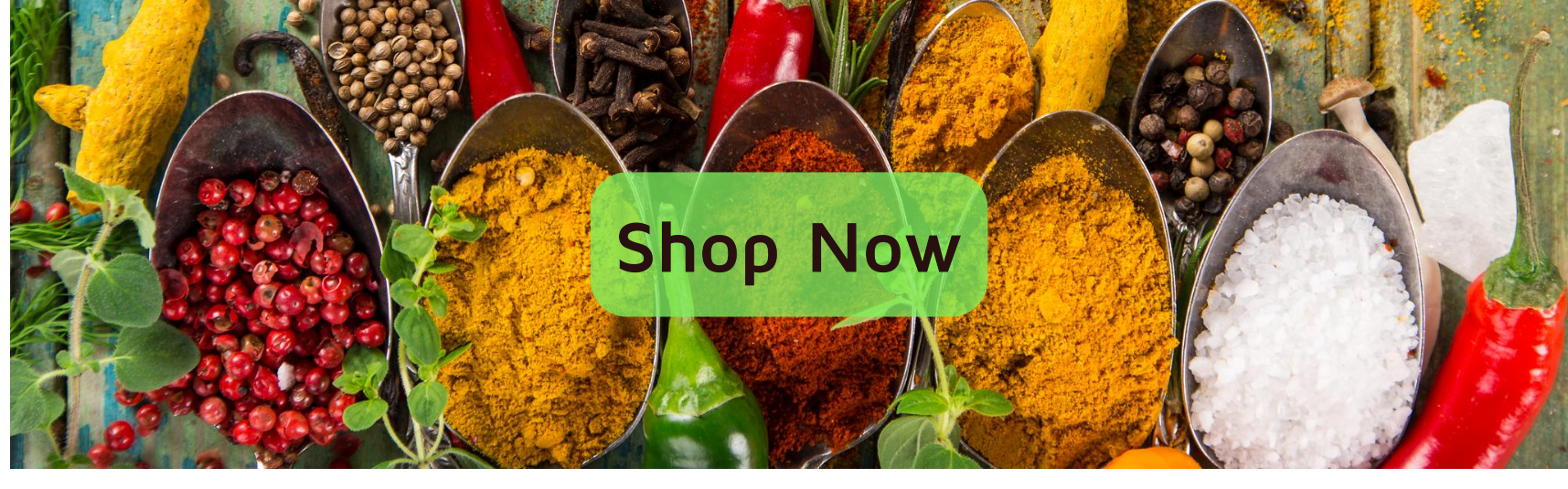 Nature Kitchen Shop Now home page Banner